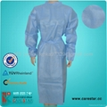 Disposable PP isolation gown 3