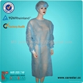 Disposable PP isolation gown 4
