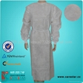 Disposable PP isolation gown 5