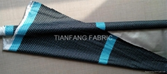 Full 180T Pongee Fabric with Si  er Coated 2 times