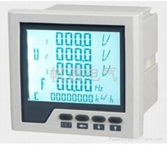 三相液晶多功能電力儀表