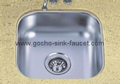 Undermount Single Bowl Stainless Steel Kitchen Sinks SUS1616
