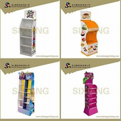 shopping mall rack cosmetic product display stands