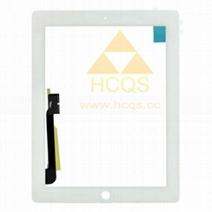 iPad 4 Digitizer Touch Panel White