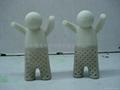 硅膠小人泡茶器 4