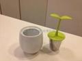 硅膠小人泡茶器 3