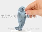 硅胶海狮泡茶器