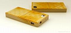 创意苹果配件4S苏打饼干硅胶套iPhone5全包围保护壳
