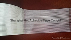 uni-directional filament strapping tape