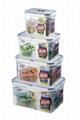 pp materail plastic food box 3