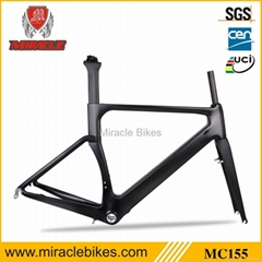 Carbon fiber road bike frame/road bicycle carbon frame/BB30 carbon frame for cyc