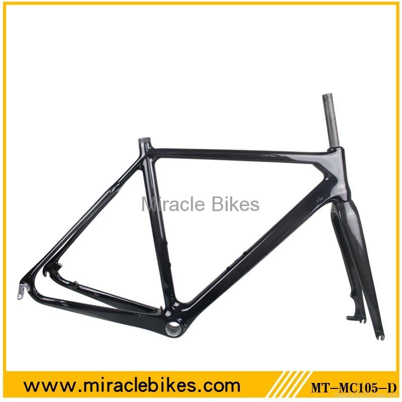 Miracle Bike carbon fiber cyclocross bike frame - MT-MC105-D - OEM ...