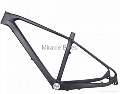 Topmost X-12 Axle and quick release Interchangeable MTB carbon frame 650B