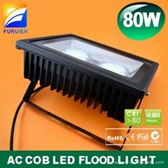 80W AC no driver LED floodlight