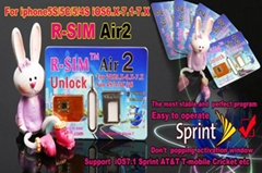 100%Original warranty RSIM AIR2 FOR ios 7.1.1 ios7.1.1 4S 5 5C 5S R-SIM Air 2 R