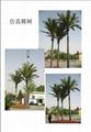 Artificial Roystonea regia tree coconut tree outdoor and indoor decoration 3