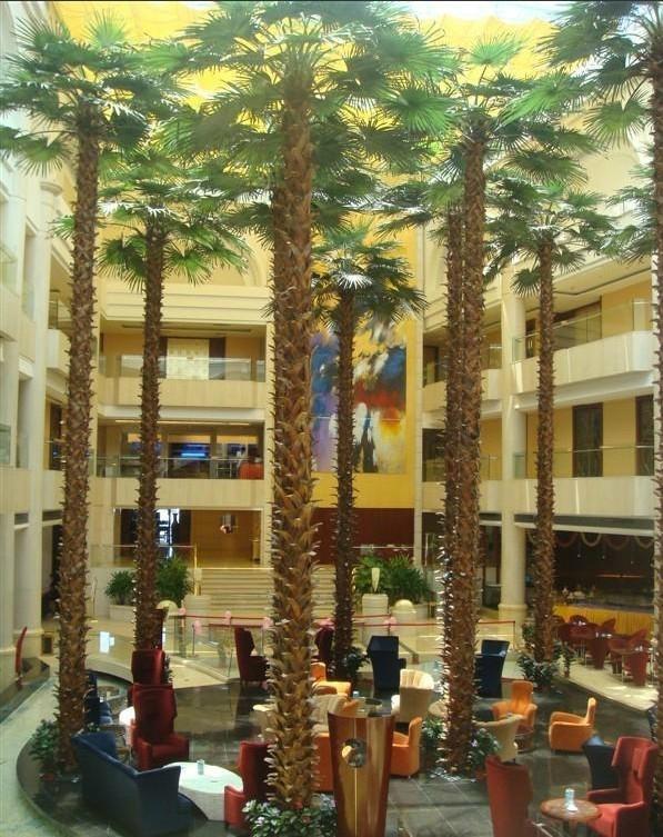 2014 Artificial Washington palm tree fake palm decorate outdoor plant  1