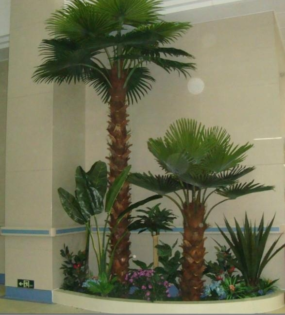 2014 Artificial Washington palm tree fake palm decorate outdoor plant  5
