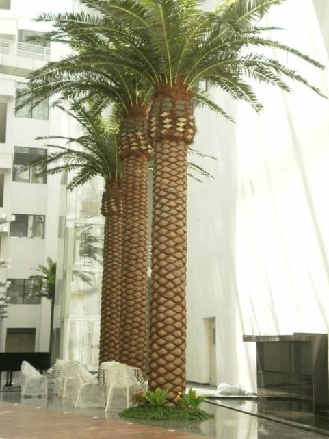 Artificial Canary date palm decoration outdoor and indoor tree plant  1