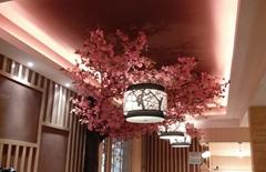 Artificial fake cherry blossom tree