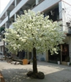 Artificial fake cherry blossom tree decoration outdoor indoor cherry flower 3