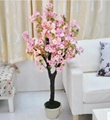 Artificial fake cherry blossom tree decoration outdoor indoor cherry flower 5