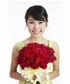Artificial flower rose bud/single rose