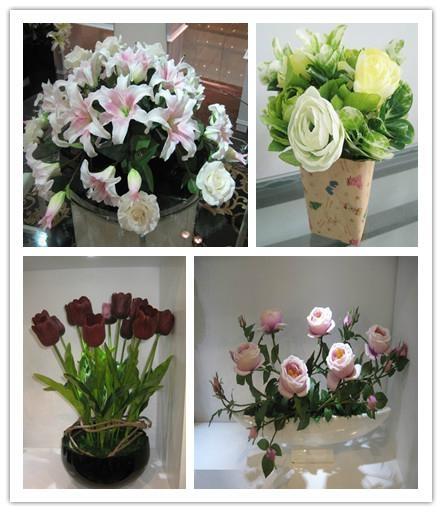 Artificial flower rose bud/single rose wreath/rose balls  4