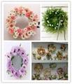 Artificial flower rose bud/single rose wreath/rose balls  5