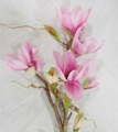 Artificial flower lily orchid for decoration wedding gift fake buds weather 5