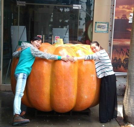 Artificial big Pumpkin for Decoration Thanksgiving gift halloween gift  2
