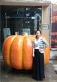 Artificial big Pumpkin for Decoration Thanksgiving gift halloween gift  3