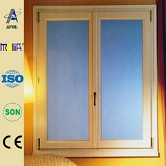 China double glazed windows casement pvc window made in China