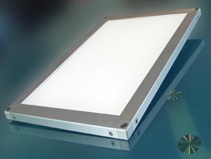 Light guide plate (LGP) for panel lights 1