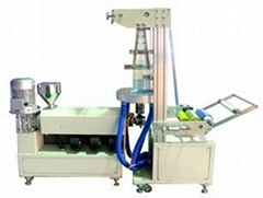 Small plastic blowing machine