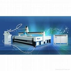 APW water jet cutting machine