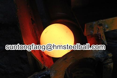 forged grinding steel ball good-wear resistance 1