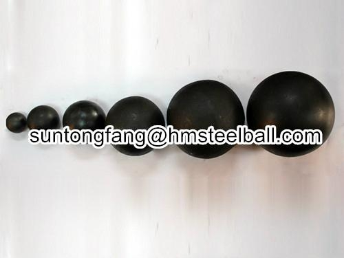 forged grinding steel ball good-wear resistance 2