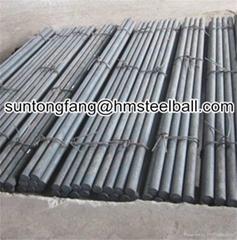 Heat treatment grinding steel rods