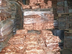 Copper WIRE SCRAP (Millberry) 99.78% at a purity of 99.78% min. 99.78%Max.