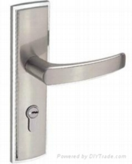 Zinc alloy mortise handle lock No.CM5019SS/G