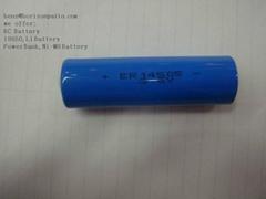 3.6V 2400mAh AA  ER14505 Li