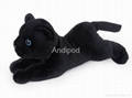 Plush Bluetooth Speaker Panther