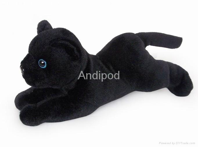 Plush Bluetooth Speaker Panther 1