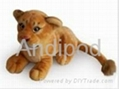 Plush Bluetooth Speaker Lioness 1
