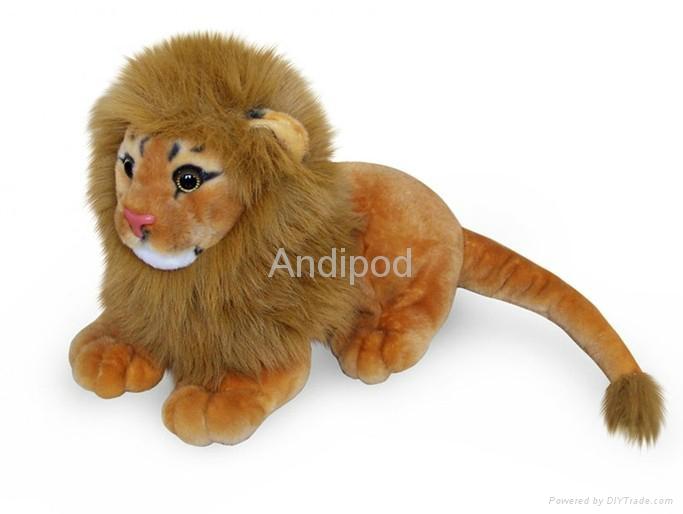 Plush Bluetooth Speaker Lion 1