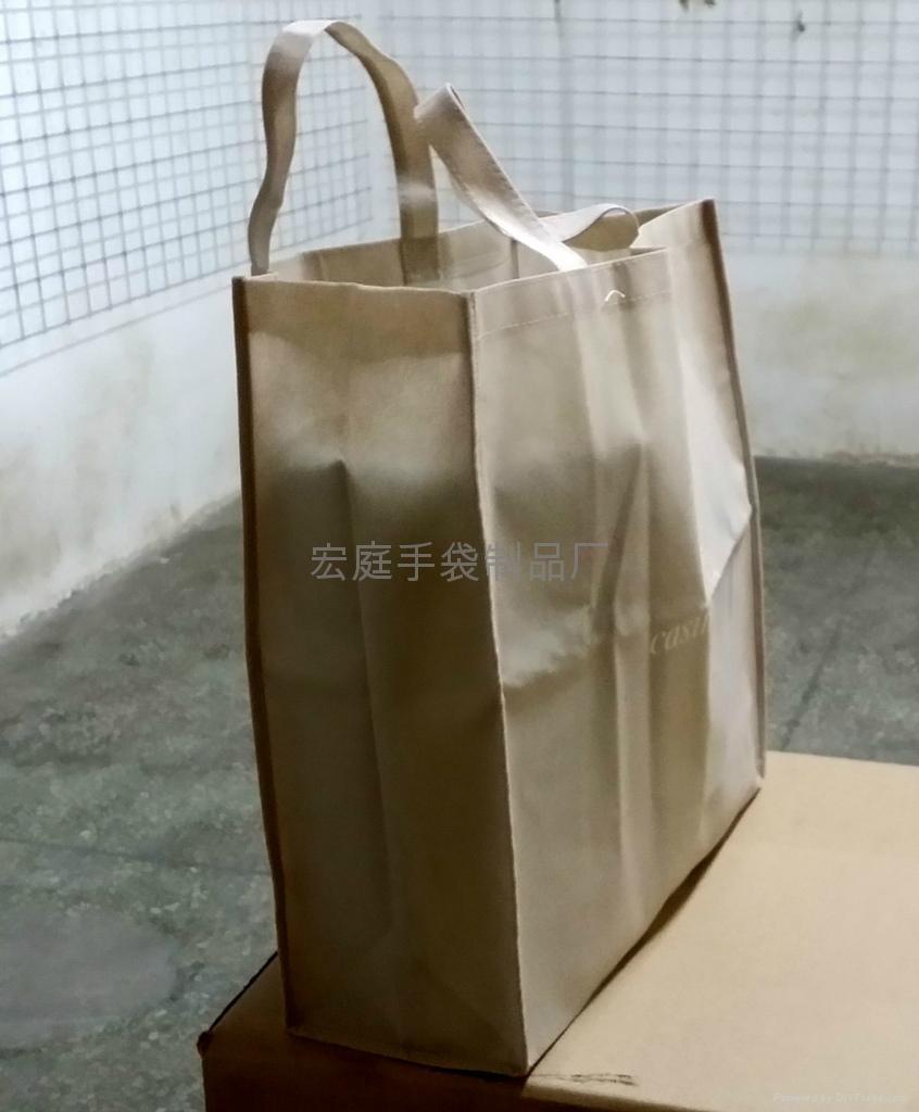 毛紡布環保購物袋 2