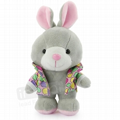 Cute Rabbit Design Power Bank for Samsung S4/iPad/iPhone/MIDs/PDA, 5200mA Capaci