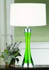 crystal lamp, hotel desk lamp, table lamp