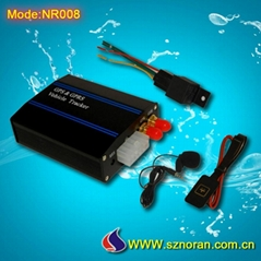 GPS vehicle free tracking systems with fuel monitor